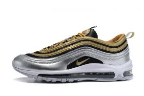 nike air max 97 boys undefeated metal gold silver