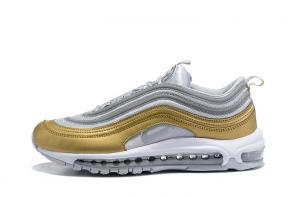 nike air max 97 boys undefeated metal side gold