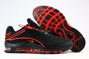 nike air max deluxe fit ebay hot 1999 black red