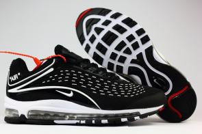 nike air max deluxe fit ebay hot 1999 black whit