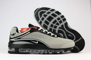nike air max deluxe fit ebay hot 1999 gray black