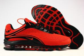 nike air max deluxe fit ebay hot 1999 rouge noir