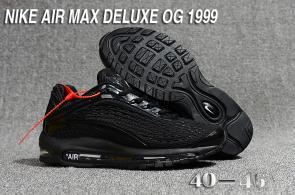 nike air max deluxe fit ebay hot 1999 star black