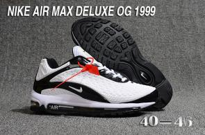 nike air max deluxe fit ebay hot 1999 top white
