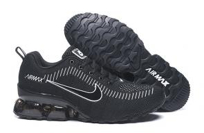 nike air max new 2020 flyknit black white