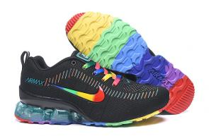 nike air max new 2020 flyknit rainbow black