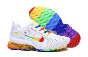 nike air max new 2020 flyknit rainbow white