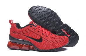 nike air max new 2020 flyknit red noir