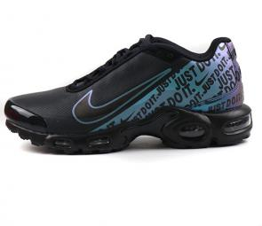 nike air max plus en solde black just do it