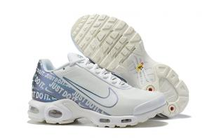 nike air max plus limited edition mesh men blue white