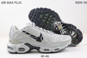 nike air max plus tn multicolor white black logo