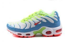 nike air max plus women tn for running 8909-120 blue vert