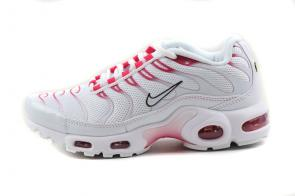nike air max plus women tn for running 8909-227 white red