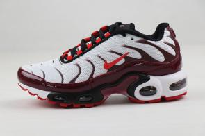nike air max plus women tn for running 8909-228 red white