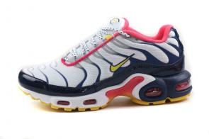 nike air max plus women tn for running 8909-230 blue pink white
