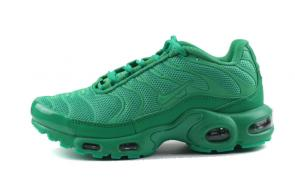 nike air max plus women tn for running 8909-244 green