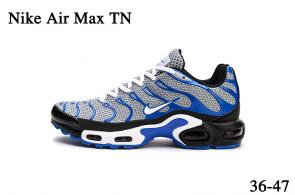 nike air max tn parole sneakers blue white stripe