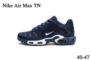 nike air max tn parole sneakers deep blue white