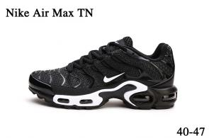nike air max tn parole sneakers dis black white