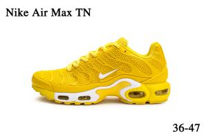 nike air max tn parole sneakers yellow gold