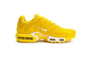 nike air max tn parole women man sneakers jaune or