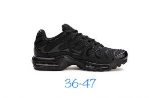 nike air max tn parole women man sneakers tout noir