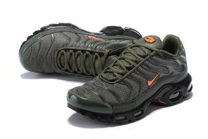 nike air max tn requin pas cher army vert