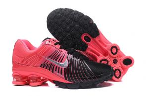 nike air shox 625 femme pas cher black peach red