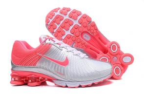 nike air shox 625 femme pas cher silver peach red