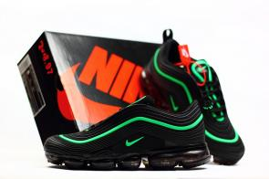 nike air vapormax 97 qs pas cher black grass green