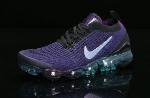 nike air vapormax flyknit id for running heio89-007 purple rainbow