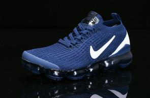 nike air vapormax flyknit id for running heio89-400 deep blue