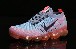 nike air vapormax flyknit id for running heio89-601 half orang