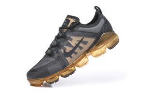 nike air vapormax hommes discount black gold