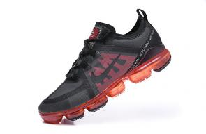 nike air vapormax hommes discount black red