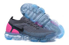 nike air vapormax plus femme chaussures pink back gray