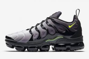 nike air vapormax plus limited edition black gray