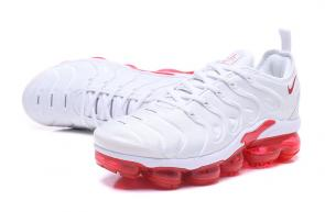 nike air vapormax plus limited edition white red
