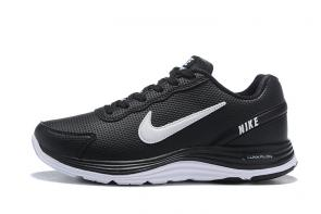 nike air zoom lunargude+4 white black