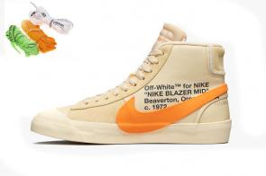 nike blazer off white high yupoo hallow eve brown
