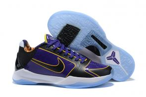 nike kobe 5 shoes buy online lakers purple