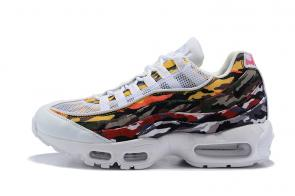 nike premium air max 95 trainers camouflage-a2 women man