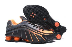 nike shox r4 news technologies orange black