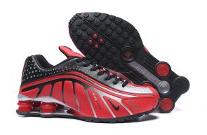 nike shox r4 news technologies red gray