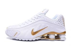 nike shox r4 news technologies white gold