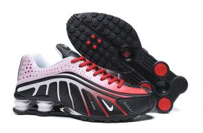 nike shox r4 news technologies white red black
