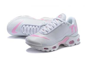nike tn 2018 pas cher leather tn pink white
