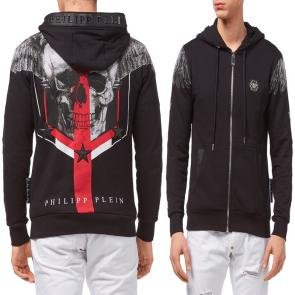 philipp plein sweat a capuche jacket wing off