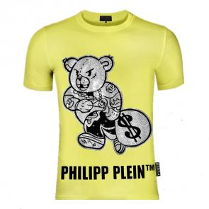 philipp plein t shirt mens sale teddy bear not share toys