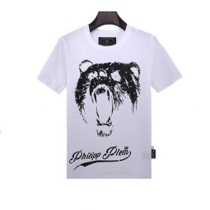 philipp plein t shirt mens sale bear white